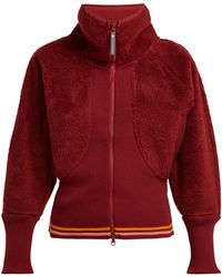 adidas By Stella McCartney - Train Fleece Performance Jacket - Lyst