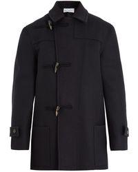 Raey | Double-breasted Wool Duffle Coat | Lyst