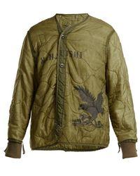 Maharishi - Upcycled Quilted Jacket - Lyst