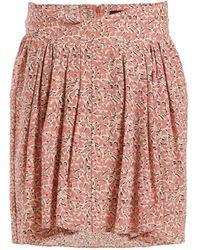 Isabel Marant - Hemen Floral Print Mini Skirt - Lyst