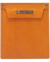 Jacquemus - Pochette en cuir - Lyst