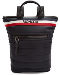 Moncler | Cerro Logo-embroidered Quilted Backpack | Lyst