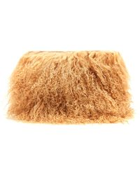 Brother Vellies - Wallflower Mongolian-fur Pouch - Lyst
