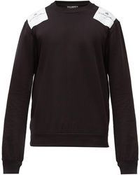 Dolce & Gabbana - ロゴパッチ コットンスウェットシャツ - Lyst