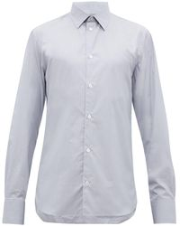 The Row Jasper ストライプ コットンシャツ - マルチカラー