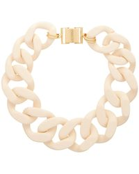 Zimmermann Curb-link Resin Necklace - Natural