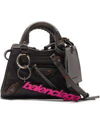 Balenciaga Neo Classic City Mini Leather Bag - Black