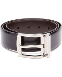 Burberry - Knight Smooth Leather Belt - Lyst