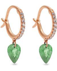 Raphaele Canot   Set Free Diamond, Tsavorite & Gold Earrings   Lyst