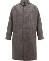 Studio Nicholson Pardessus en laine à manches raglan Romer - Gris