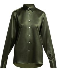 CONNOLLY - Silk Satin Shirt - Lyst
