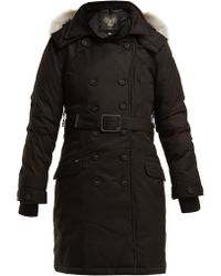 Nobis - Tula Double Breasted Down Coat - Lyst