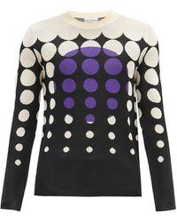 Paco Rabanne サンセット ジャカードセーター - ブラック