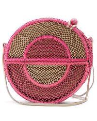 Sophie Anderson - Nilsa Circle Toquilla-straw Cross-body Bag - Lyst