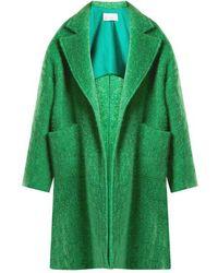 Raey - Dropped-shoulder Wool-blend Blanket Coat - Lyst