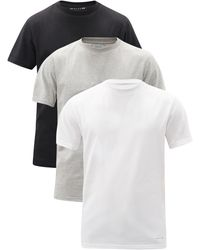 1017 ALYX 9SM ビジュアル コットンブレンドtシャツ X3 - ホワイト