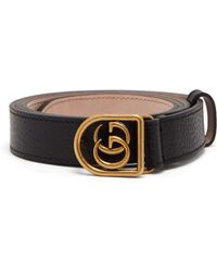 923f45acfb8 Gucci Gg-buckle Canvas Belt in Red for Men - Lyst
