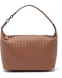Bottega Veneta - Ciambrino Intrecciato Leather Shoulder Bag - Lyst
