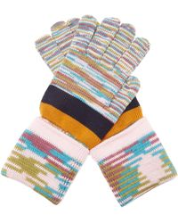 Missoni Striped Wool Gloves - Multicolour