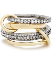 Spinelli Kilcollin | Vega Diamond, Silver & Yellow-gold Ring | Lyst