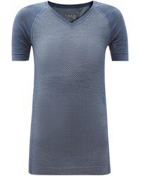 Falke ロゴ ウールブレンドtシャツ - ブルー