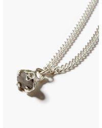 Pearls Before Swine スプライスト ラフダイヤモンド シルバーブレスレット - メタリック