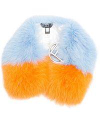 Fendi - F-buckle Fur Scarf - Lyst