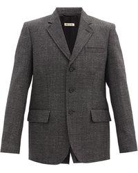 Marni - バージンウールツイード シングルジャケット - Lyst