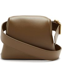 OSOI Brot Small Leather Belt Bag - Natural