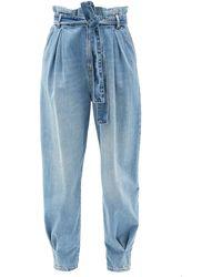 RED Valentino ペーパーバッグウエストジーンズ - ブルー