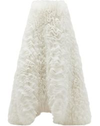 Emilio Pucci X Tomo Koizumi チュールマキシスカート - ホワイト