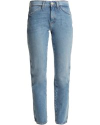 M.i.h Jeans - Cult Mid-rise Straight-leg Jeans - Lyst