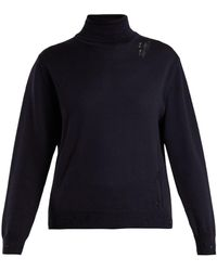 Golden Goose Deluxe Brand - Pyxis Distressed Sweater - Lyst