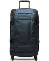 Eastpak トランス4 Cnnct ミディアム チェックインスーツケース - ブルー