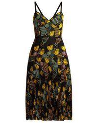 Fendi - - Embroidered Lace Dress - Womens - Multi - Lyst