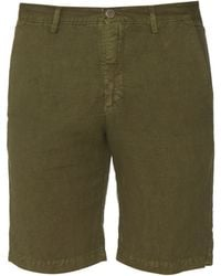 Massimo Alba | Linen And Cotton-blend Shorts | Lyst