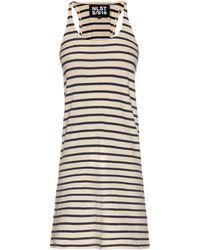 NLST - Striped Tank Dress - Lyst