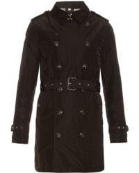 Burberry Brit | Hooded Nylon Trench Coat | Lyst