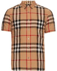 Burberry Brit | Short-sleeved House-check Shirt | Lyst