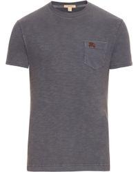 Burberry Brit | Cotton Crew-neck T-shirt | Lyst