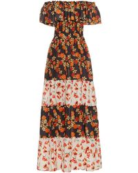 Athena Procopiou Seven Wonders Off-the-shoulder Dress - Black