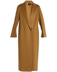 Calvin Klein - Hens Single-breasted Double-faced Cashmere Coat - Lyst
