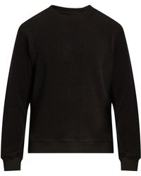 Fanmail Crew-neck French Terry-towelling Sweatshirt - Black