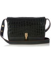 Elizabeth and James - Cynnie Crocodile-effect Leather Shoulder Bag - Lyst