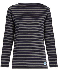 Orcival - Breton-striped Cotton Top - Lyst