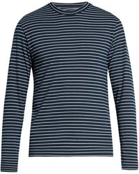 Satisfy Self-stowing Jersey T-shirt - Blue