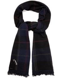Queene And Belle - Mackenzie Plaid Cashmere Wrap - Lyst