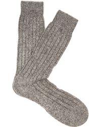 Pantherella - Waddington Cashmere-blend Socks - Lyst