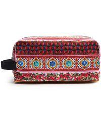 Dolce & Gabbana - Carretto-print Large Washbag - Lyst
