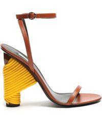 Balenciaga | Bistrot Leather Sandals | Lyst